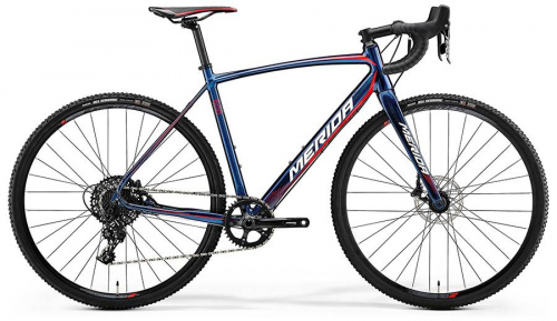 Велосипед Merida CycloCross 600 Shiny Dark Starry Blue 2018