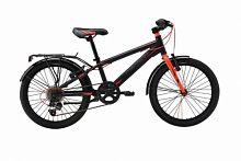 Велосипед  Merida Dino J20 6 spd Matt black/red (2016)