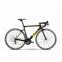 ВЕЛОСИПЕД ШОССЕЙНЫЙ BMC TEAMMACHINE SLR01 TWO CARBON/YELLOW/GREY 2018