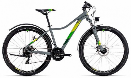 Велосипед CUBE ACCESS WS Allroad 27.5Ø (grey n green) 2018